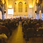 Great start to our Carol Service. @cantemuscalday leading once in royal Davids city http://t.co/NW0XvrIQOa