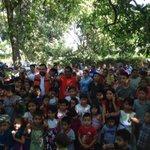 En mi labor como candidato a diputado por La Libertad, repartiendo juguetes y mucha alegría en cantones de Jayaque http://t.co/WnbDY19soo