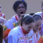 Nuestras GUERRERAS recogen su medalla de plata que sabe a oro :) ¡ENHORABUENA CHICAS! #ehfeuro2014 http://t.co/pAkYEE9awW