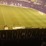 Mi bufanda de @Fanaticos_RVCF en.el palco presidencial de zorrilla contra el Barcelona B http://t.co/XW8vkE0Q2q