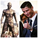 "When your statue is unveiled and theyve immortalized a bit more than just your ""essence"" as a soccer player. http://t.co/sI2FerVWwA"