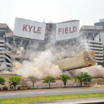 Side of Texas A&Ms Kyle Field imploded for upgrades » http://t.co/bJV1bjeE6W http://t.co/2VF19Pd4AM