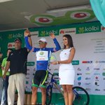 Juan Carlos Rojas ganador de etapa y nuevo líder general #VueltaCR http://t.co/qUU5XLYDzu