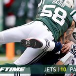 A 4th sack of Brady ends the half with the #Jets up 10-7 #NEvsNYJ analysis at the break- http://t.co/oJsdFavnYs http://t.co/7MN9X684wP