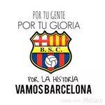 Hoy hay que dejar la vida en la cancha a poner huevos BARCE #Vamosxla15 @Hincha_Amarillo. @LuigiMB @BarcelonaSCweb http://t.co/4xMhevhmJ5