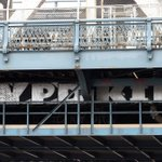 About the NYPD, on the NY Manhattan Bridge. Whos bridges? Our bridges. #BlackLivesMatter #NYC2Palestine http://t.co/WxjFkKrA78