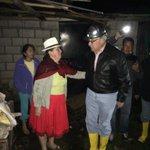 Inspeccionamos casas en Chiquintad afectadas por las lluvias. http://t.co/jgntgmdV6a
