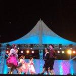 El show inicio, la plaza de Nuevo Cuscatlán esta teniendo una noche mágica #Cascanueces @nayibbukele @misol140 http://t.co/JAEpnrj32C