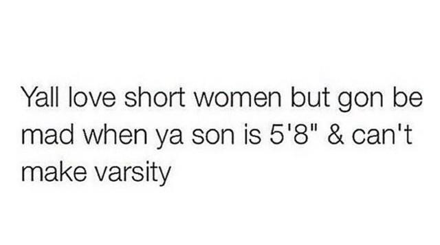 Oh, today's #ShortGirlAppreciationDay? http://t.co/tY7uVB25So