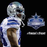 Those @DallasCowboys and @DezBryant are NFC Champions! #FinishTheFight http://t.co/MX23HHTRsJ