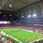 Outside its currently 61 and clear in Glendale. @Mariners would have opened it. ???? #SEAvsAZ http://t.co/PHV1tWeC6V