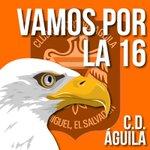 @cdaguilaoficial @CDAguila_SV Vamos Aguila!! Todo el oriente del país va con vos!! http://t.co/CwYc9VV6cq