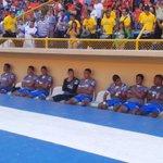 O.Mejia, N.Muñoz y H.Hernandez campeones titulares el torneo pasado hoy en el banco con @somosmetapan @Fanaticos21 http://t.co/6dRX8uGPOI