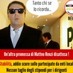 .@M5SMontecitorio Stabilità, addio scure sulle partecipate. Altra balla di Renzi ►https://t.co/syO8J2s3Ja http://t.co/wpx1LyfkaC