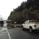 Highway 126 closed at Cushman. 3 miles east of Florence. @KEZI9 http://t.co/iLHjhGuxb7