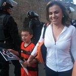 Vanda Pignato Secretaria de Inclusión Social al momento de su llegada al Cuscatlán para la #FinalLMF @RadioNacionalsv http://t.co/H4RmNVSxFD