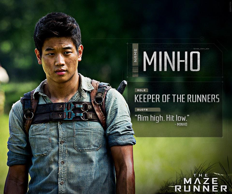 There's no better shank to have your back in the maze. #MazeRunner http://t.co/F8xg4ILRZJ