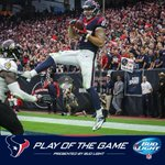 The @BudLight play of the game is EASY. Foster to Fiedorowicz. WATCH: http://t.co/oSVV1yybgY http://t.co/pkmyAD0MSW