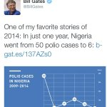 And Bill Gate Confirmed & accepted there is transformation going on in Nigeria under president GEJ #ForwardNigeria. http://t.co/L0cf1UZ1BY