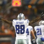 Dez Bryant now leads the league with 14 TD receptions, a career high. http://t.co/e97Fy0NJuC