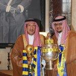 بأسم كل جماهير النصر نحمد الله على سلامة رئيس هيئة أعضاء الشرف الأمير تركي بن ناصر متعه الله بالصحة والعافية #NFC http://t.co/IMJ3QYSKvO