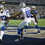 .@DezBryant in Jordan 6 Low cleats again today. Up 21-0 against the Colts #CowboysNation /cc @MrBrando3 http://t.co/KIpw7IhE5m