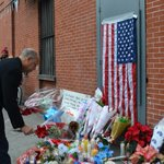 I join @NYPDNews, family & friends in mourning the tragic loss of Officer Liu & Officer Ramos –JCJ http://t.co/zykRXQgqAC