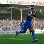 (EN VIVO) Revisa las acciones mas destacadas del primer tiempo #Emelec 1 - 0 #Barcelona (2-1) http://t.co/cJzYVj6Vxn http://t.co/JWRmL2mIi5