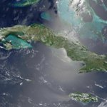 Cuba from space by NASA http://t.co/7lBPx9oySC