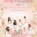 Apink 1st CONCERT [PINK PARADISE] ポスター http://t.co/l7kovy49QR