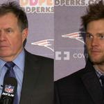 Beli. Brady. Dueling haircuts! http://t.co/1LJA84OBif