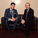 """""""@Mark_E_Wright: @Lord_Sugar my new business partner http://t.co/oBSmwx2XOj"""" Well done Mark. Looking forward to hearing great things"""
