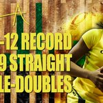 Congrats @SuperrJaay! @pac12 record 19 straight double-doubles, third longest streak in NCAA history! #GoDucks http://t.co/Wg02B6E6pT