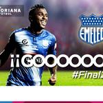 ¡Goooooool de @CSEmelec! Miler Bolaños vuelve a anotar. @CSEmelec 3 - @BarcelonaSCweb 0. #Final2014 http://t.co/tGVDhbHZ7q
