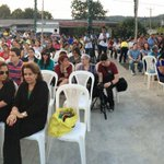 "Así luce La plaza de Nuevo Cuscatlán a la espera de la show ""El Cascanueces"" #DomingoFamiliar @nayibbukele @misol140 http://t.co/8p3CyidQLQ"
