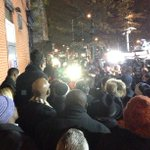 Proud to see Council colleagues & many residents here at vigil tonight. The loss of POs Liu & Ramos affects all of us http://t.co/NJE8108WCq