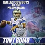 Tony Romo has just passed @TroyAikman to become the Cowboys All-Time passing leader. http://t.co/PDNdNlDrVr