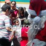 Ramal Talca celebró tradicional fiesta navideña entregando regalos a los niños en todas las estaciones http://t.co/5Ou42QXn0c
