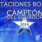#Emelec es el campeón del Campeonato ecuatoriano de fútbol. #LaFinalHistoricaxGamatv http://t.co/jiFMkAxz6X