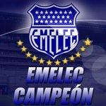 ¡GRANDE BOMBILLO! La gloria es azul. ! #Emelec es el campeón del fútbol ecuatoriano 2014 ! » http://t.co/aZUOsEH5FS http://t.co/GPnhnU6AJv