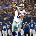 Congratulations to Tony Romo on passing Troy Aikman as the @DallasCowboys all-time leader in passing yards. http://t.co/SzpMwxZsX0