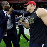 .@JJWatt did a Dikembe Mutombo impression. Or maybe the Cookie Monster. Hes not sure. WATCH:http://t.co/DBgPLQ9u4o http://t.co/XT3JNQtbfr
