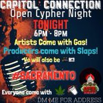 #Sacramento #CapitolConnection #OpenCypherNight #TONIGHT http://t.co/Al871dkN07