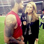 Post game w/ Arian Foster on @nflnetwork The hit he took after throwing a TD pass, gave him an appreciation for QBs. http://t.co/uhjNf3SMvO