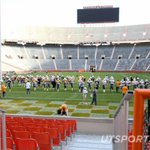 GALLERY: @Vol_Photos captured Sundays practice, the last one inside Neyland for the year: http://t.co/WPpLMd4Jiy http://t.co/PfDJN8yoti