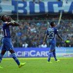 Con goleada, #Emelec es el campeón ecuatoriano 2014. Anotaron Ángel Mena y Miler Bolaños http://t.co/F9vVDjqJXz http://t.co/hDAsCvU918