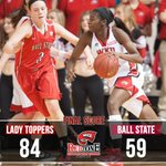 WKU picks up 10th win before Christmas for 2nd time in program history, beat Ball St. 84-59 | http://t.co/fAzuCD6e0M http://t.co/C7F0b8iUnp