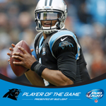 201 passing yards. 63 rushing yards. 2 touchdowns.   QB @CameronNewton is your @BudLight Player of the Game! http://t.co/g37fPsbv0q
