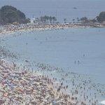 Verão mal começou e sensação térmica já é de 55,5 graus no Rio. http://t.co/o3ro3Jow9j http://t.co/vIv5qkKgST
