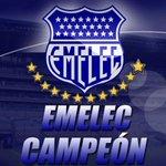 EMELEC NUEVO BICAMPEON. DALE RT HINCHA AZUL! http://t.co/KRUM1ReS3p